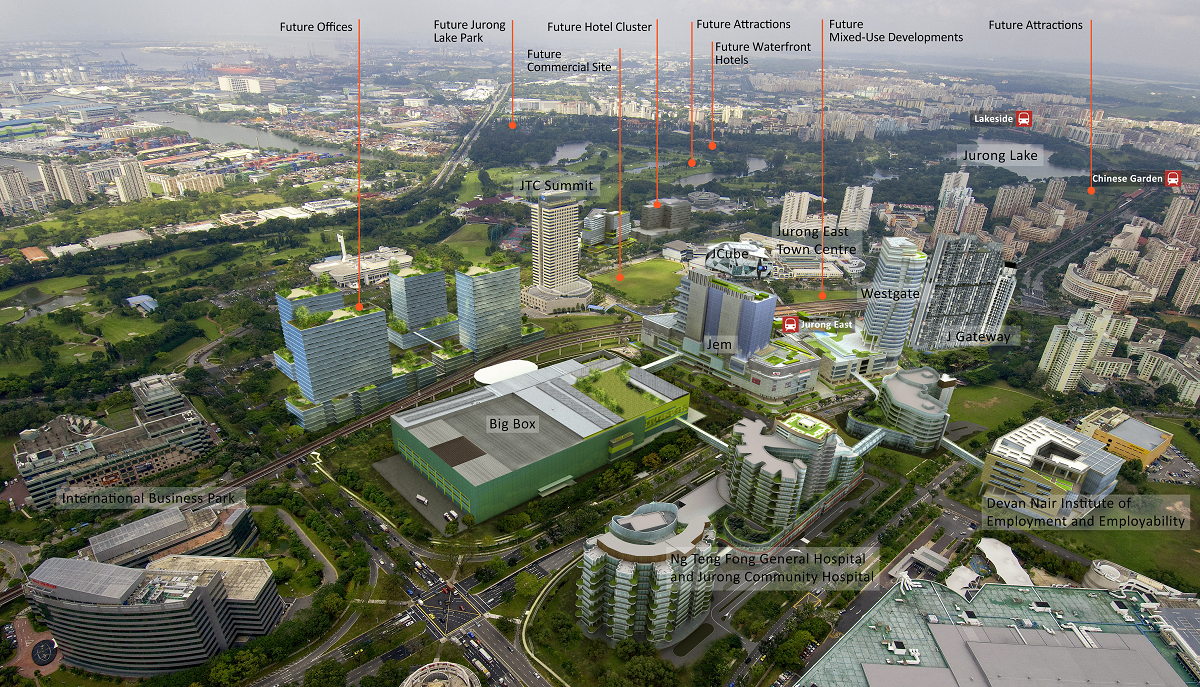 jurong-lake-district 2nd CBD