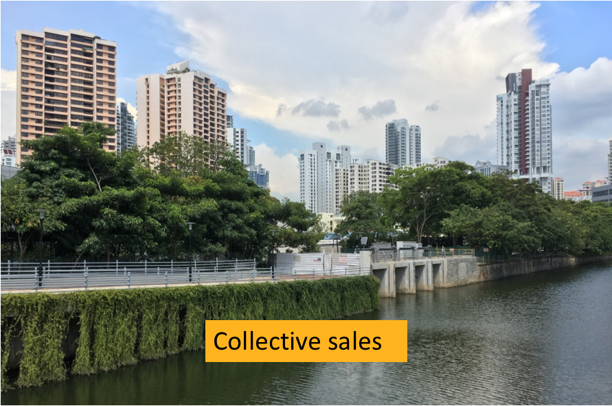 Singapore Collective Sales and land supply