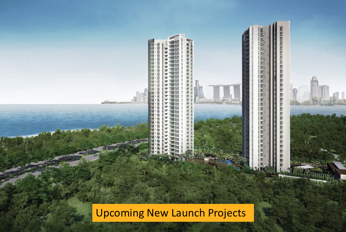 Upcoming new launch projects Singapore
