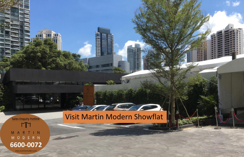 Visit Martin Modern showflat