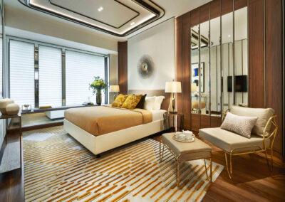 铂瑞雅居 Boulevard 88 condo master bedroom