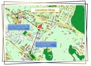 15 Holland Hill condo Location Map