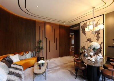 3 Orchard By The Park gallery 2-Bedroom living