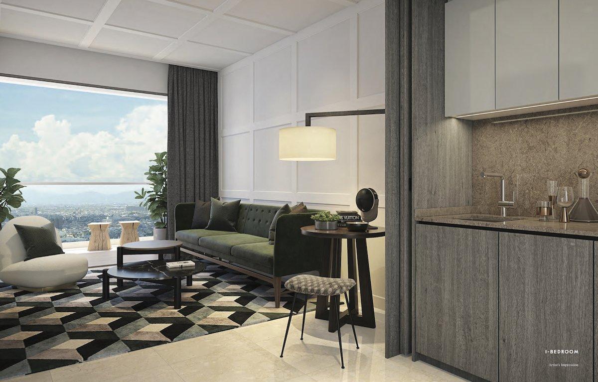 Avenue South Residence 南峰雅苑 peak 1 bedroom