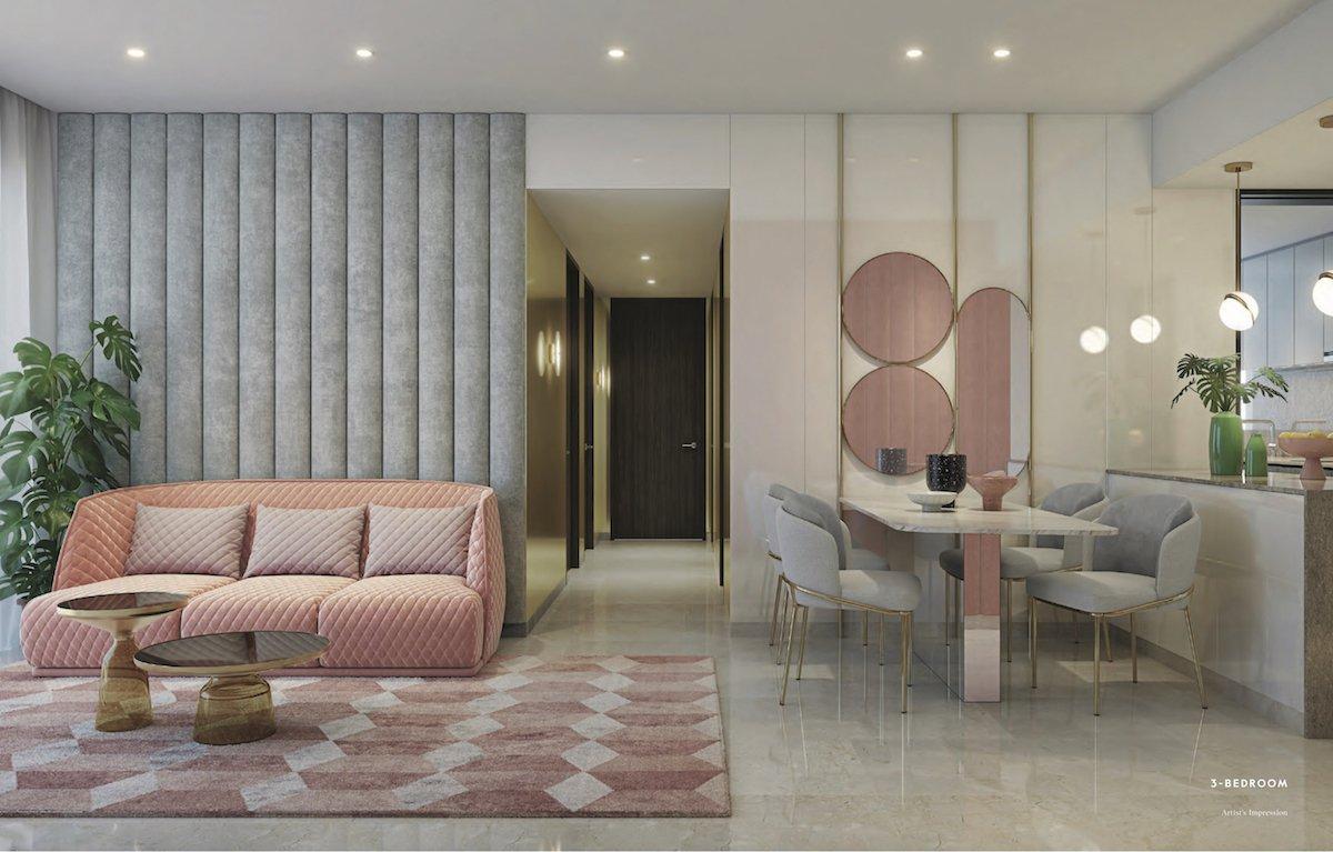 Avenue South Residence 南峰雅苑 peak 3 bedroom