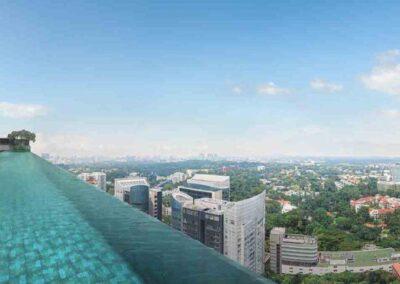 Boulevard 88 infinity pool sky garden