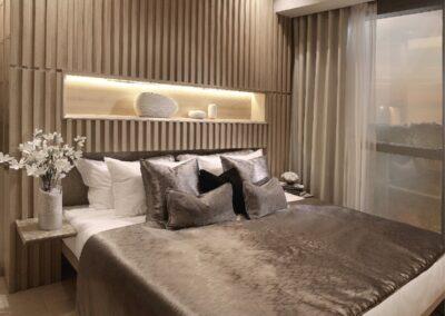 Jadescape 顺福轩 condo interior design 2-bedder bedroom