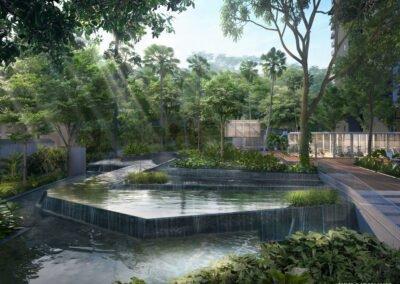 Jadescape 顺福轩 forest waterfall