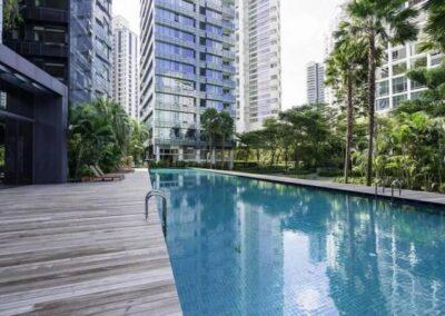 Nouvel 18 明筑公寓 -标准泳池